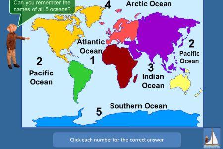 map of the oceans » Free Interior Design | Mir Detok
