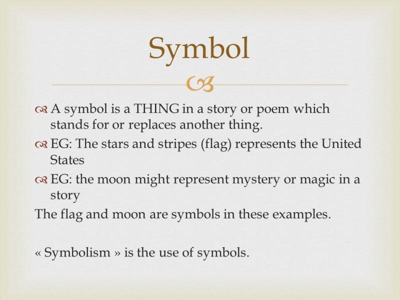 Example Of Symbolism In A Poem Creativepoem