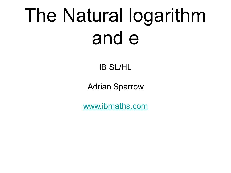 Ln And E