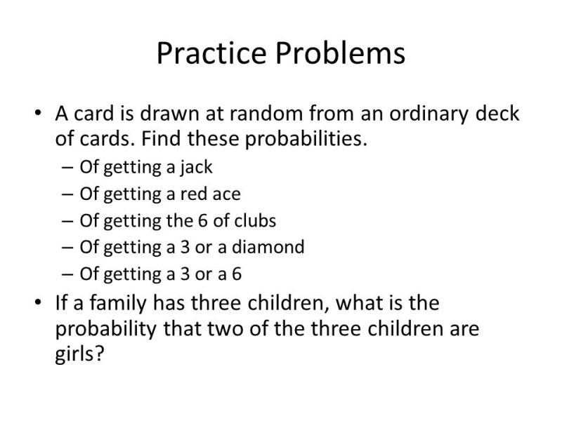 Probability With A Deck Of Cards Worksheet Answers Gemescool Org