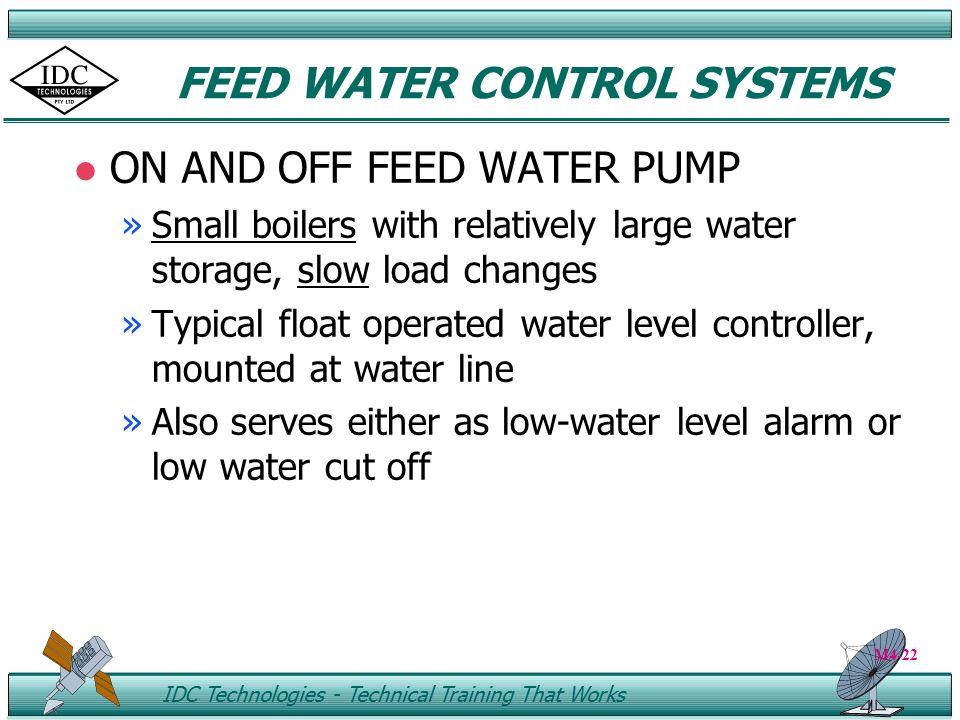 Boiler High Water Cut