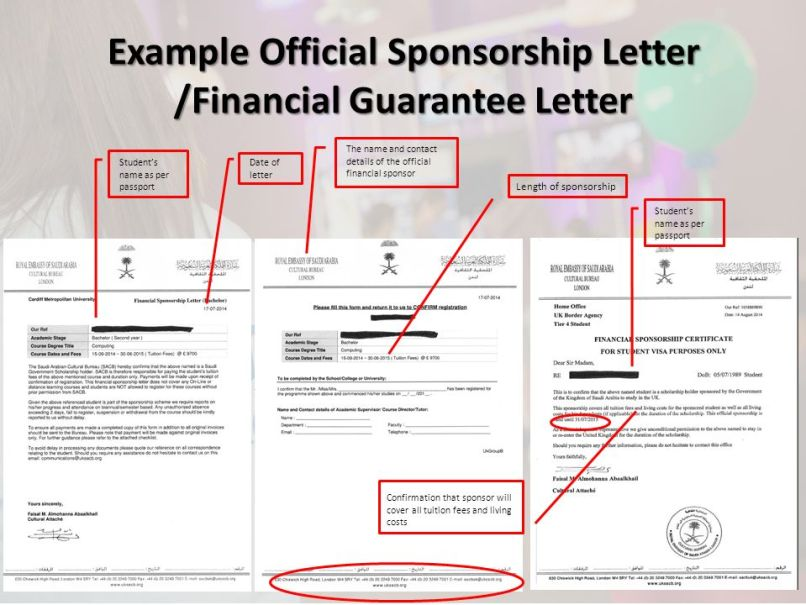 Financial guarantee letter uk visa inviview example official sponsorship letter financial guarantee tier 4 visa maintenance requirements ppt online thecheapjerseys Choice Image