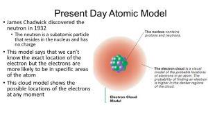 Jj Thomson Atomic Model  ppt video online download