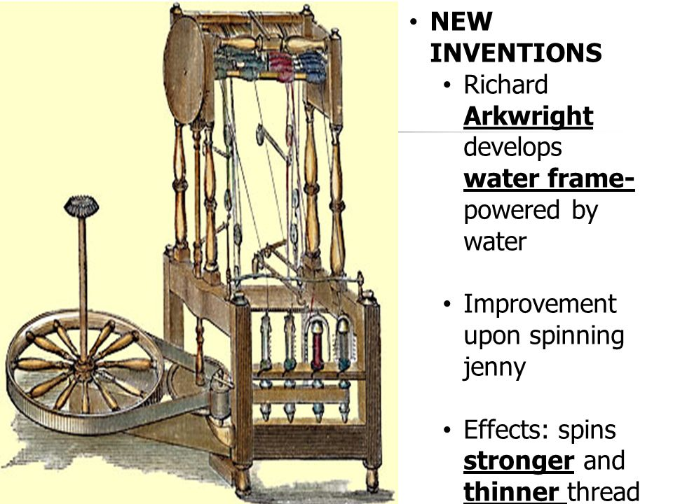 Richard Arkwright S Spinning Frame Impact | pixels1st.com