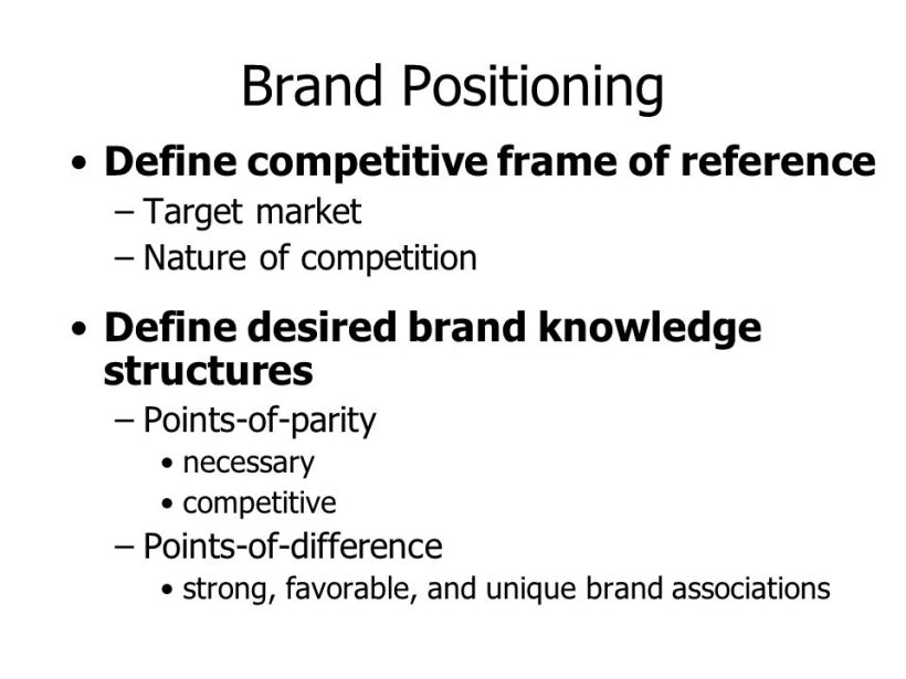 Competitive Frame Of Reference In Marketing Definition | Amtframe.org