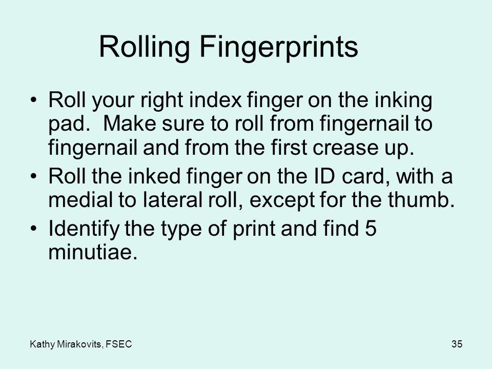 Latent Fingerprint Right Index Finger