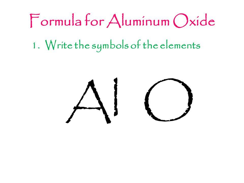 Chemical Makeup Of Aluminum Oxide Cartooncreative