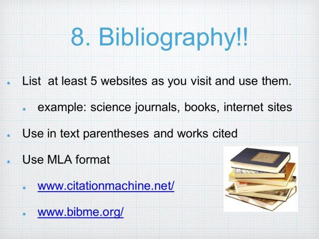 Science Fair Background Research Paper - ppt video online download