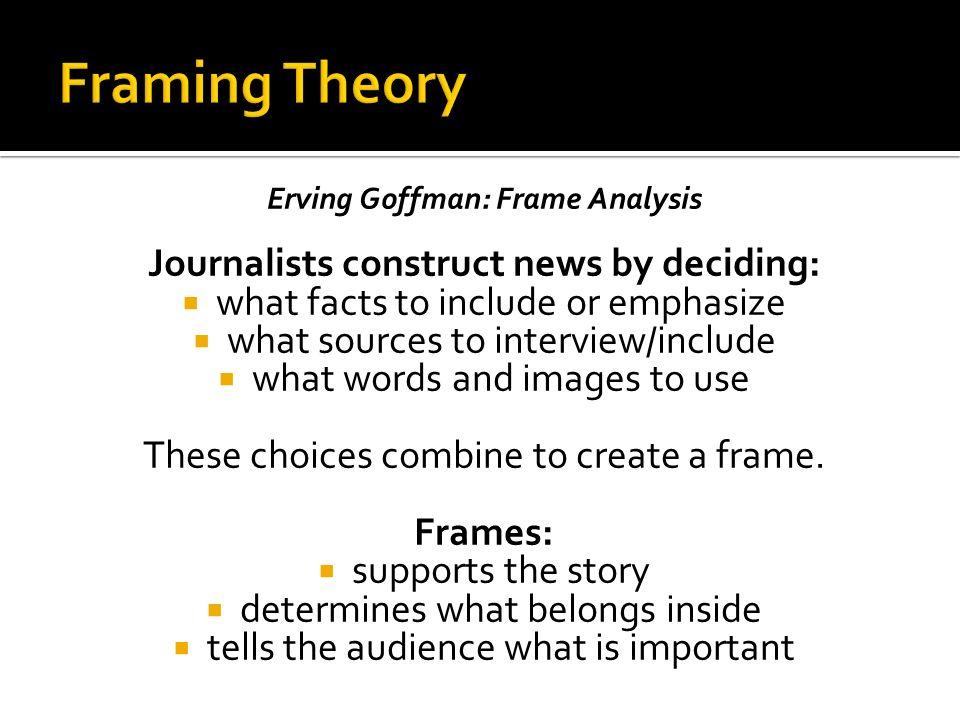 Erving Goffman Frame Analysis 1974 | damnxgood.com