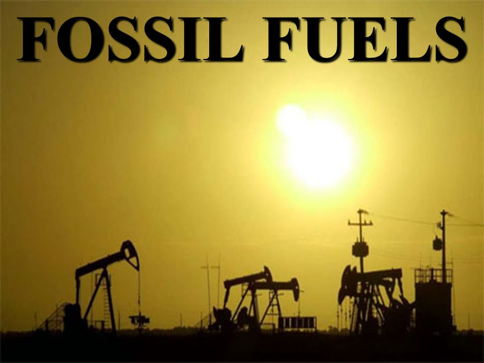 Formation Fossil Fuel