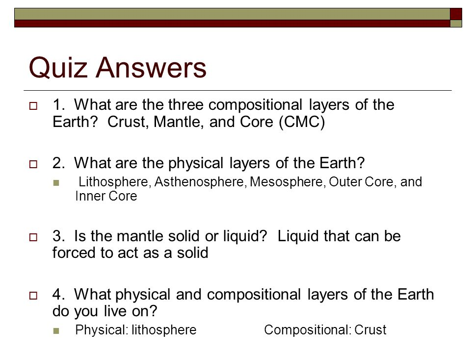 Interior earth interior questions and answers hd images earth how we know what lies at earth s core earth s interior is divided into several layers credit claus solved please answer all questions below as ccuart Gallery