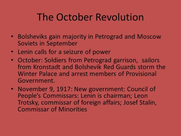 Image result for Lenin calls for the October Revolution.