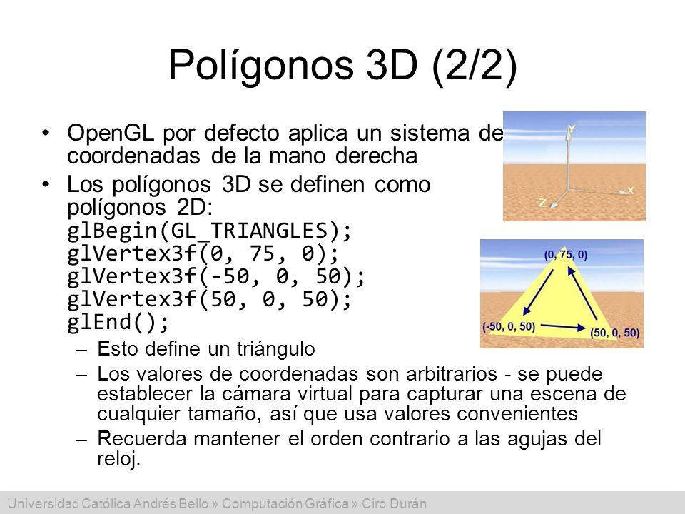 Resultado de imagen para poligono triangulo 3d opengl