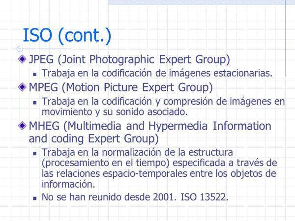 Est225ndares multimedia ppt descargar