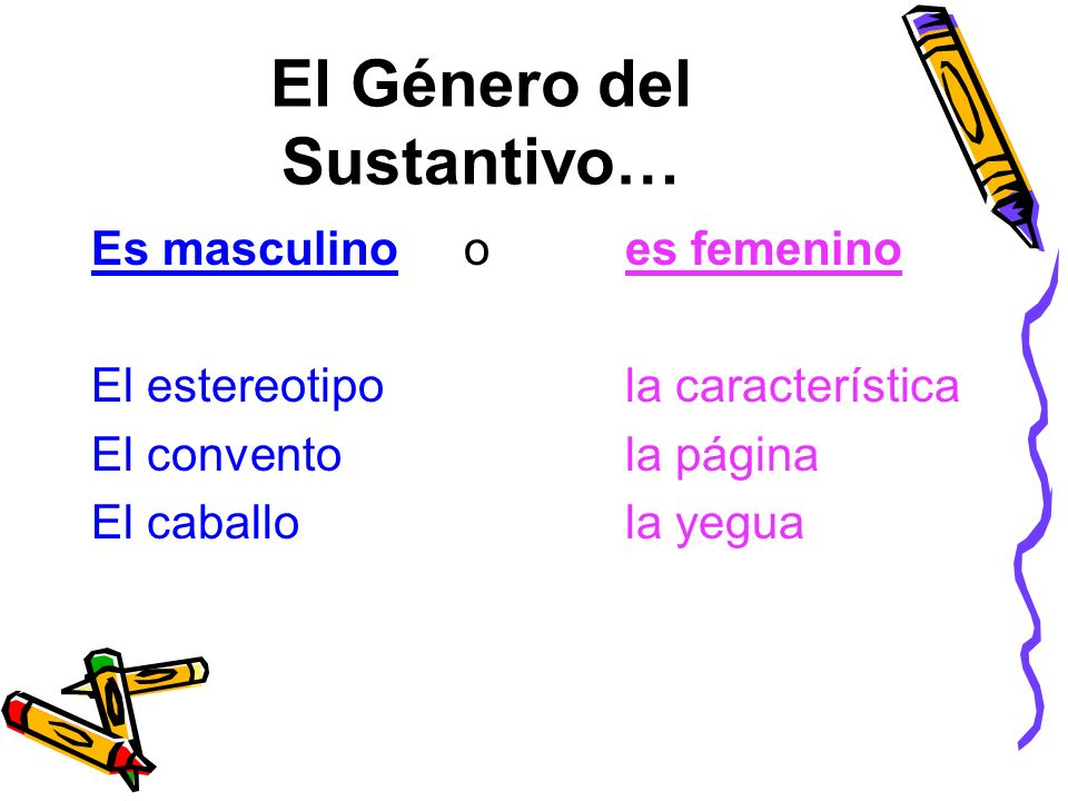 El Femenino Nombre Animales Y Masculino De Los