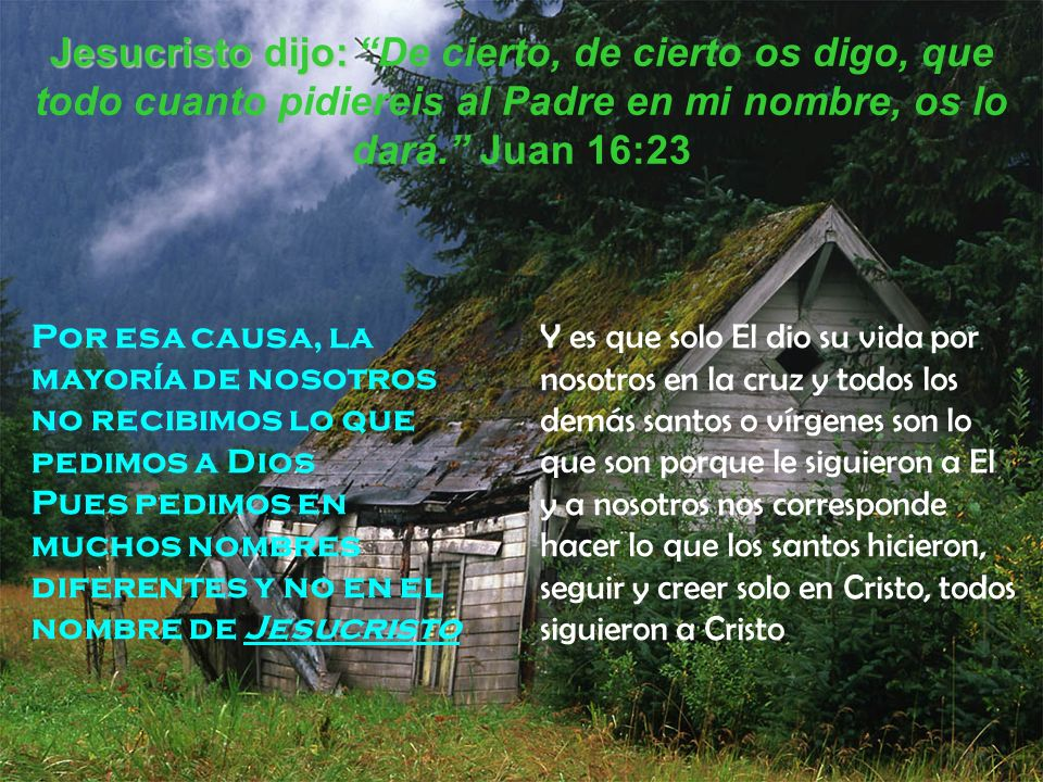 De Biblia En Nombre La Parte De Se Encuentra El Dios Que