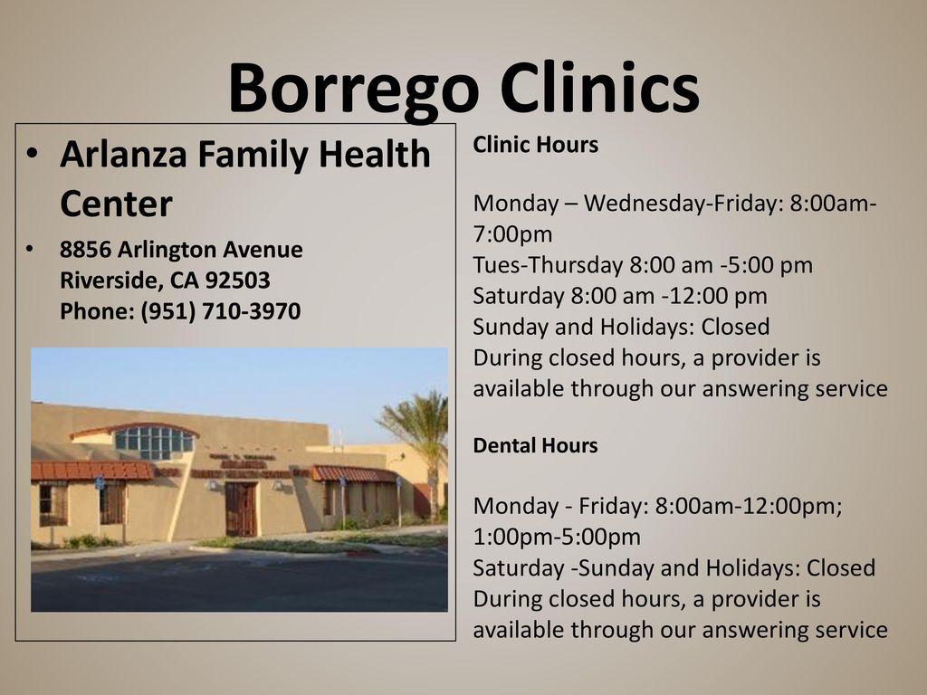 borrego health your medical and dental