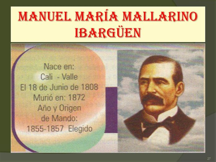 Resultado de imagen para Fotos de Manuel María Mallarino