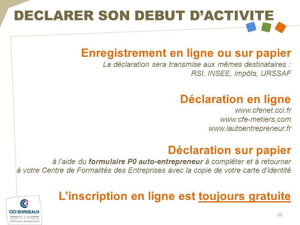 LAUTO ENTREPRENEUR Entreprendre Avec La CCI De Bordeaux