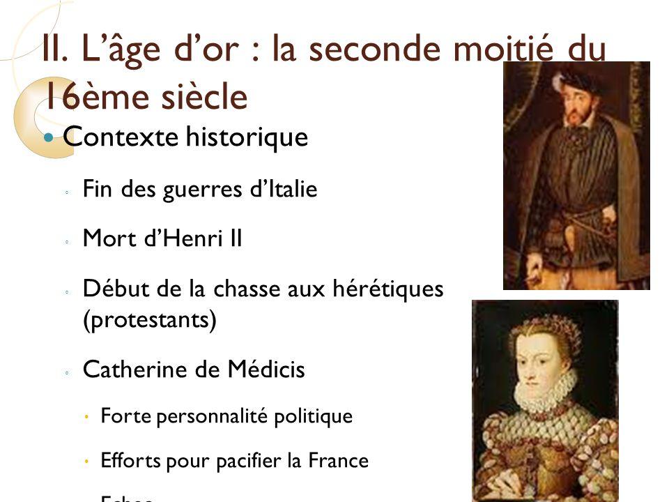 litterature et histoire du 16eme siecle