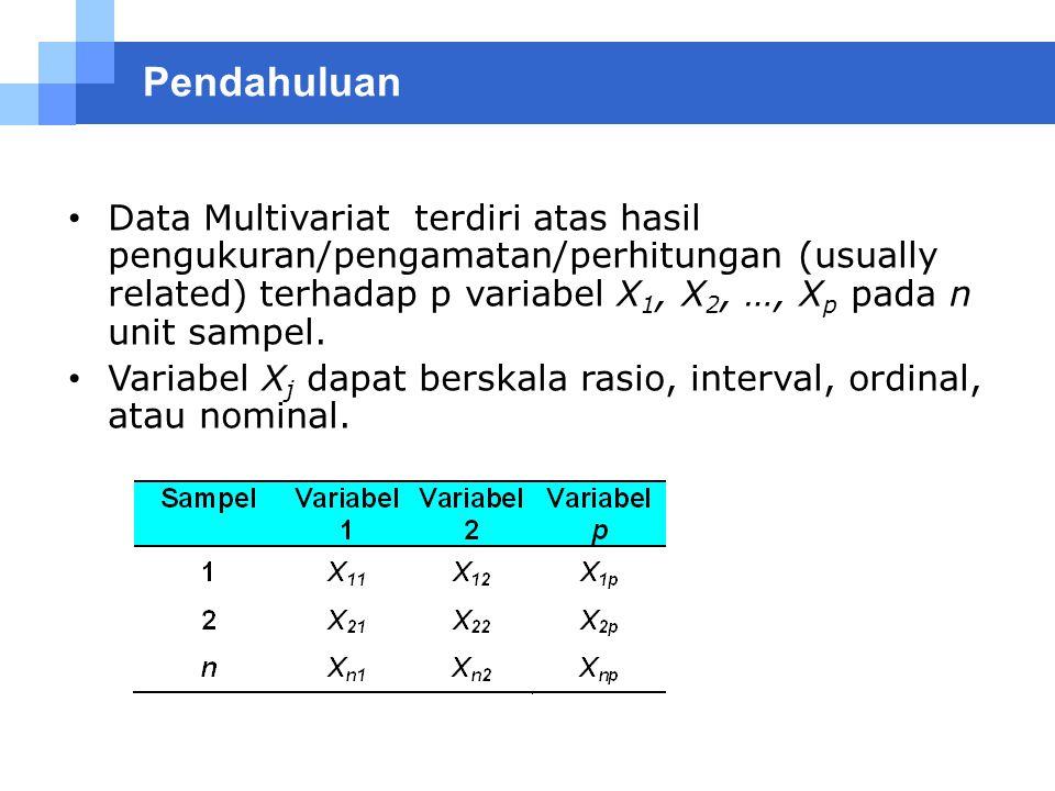 Statistik multivariat aplikasi untuk riset skripsi. Statistika Multivariat Ppt Download
