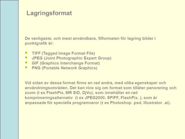 Digitalisering av text och bild teori och praktik ppt