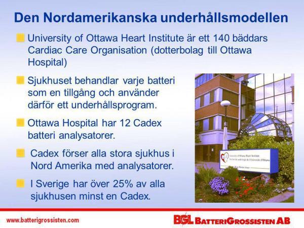 Batteriunderhåll på sjukhus - ppt ladda ner