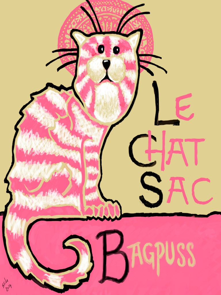 """Le Chat Sac, 2014"" by Ms Slide"