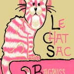 """""""Le Chat Sac, 2014"""" by Ms Slide"""