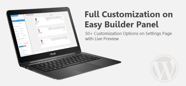 Easy Builder Options for List View