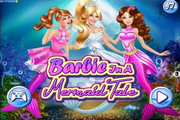 Barbie In A Mermaid Tale Dressing Games Play Online Free Atmegame Com