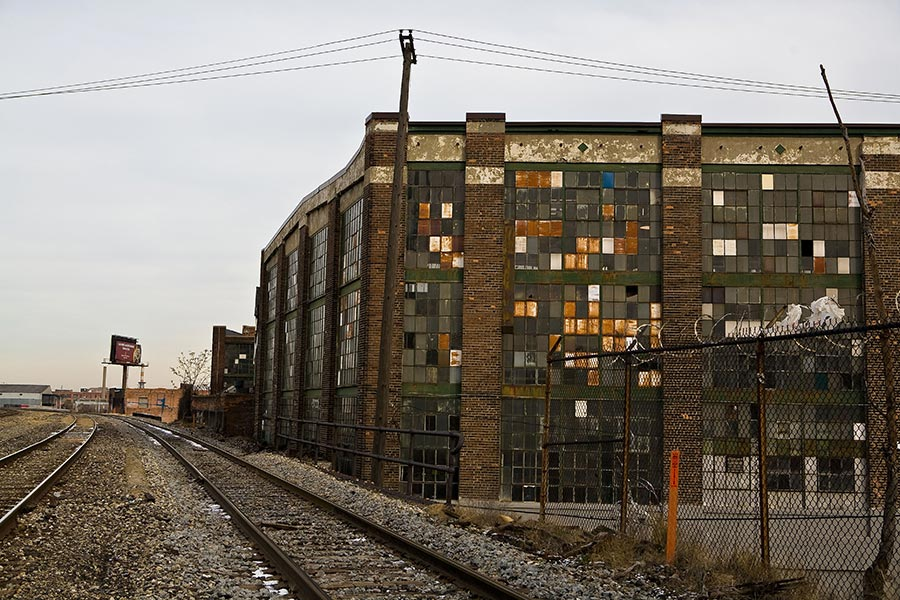 One of the Abandoned Factories That Ring Detroit