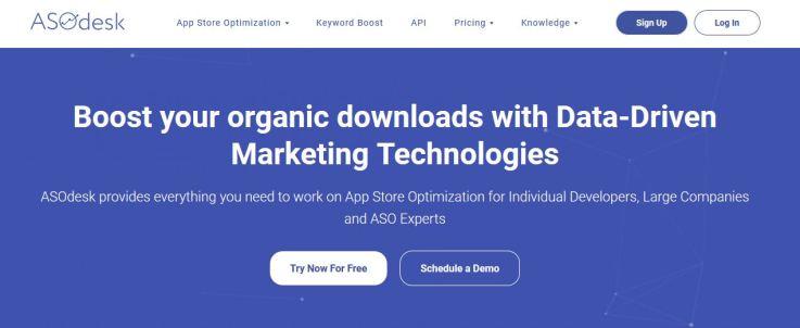 asodesk free app store optimization tool