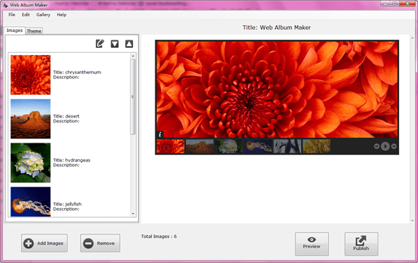 add images to jquery slideshow maker