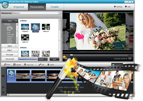 Slideshow Creator Easily Create And Share Your Own Personal DVD Slideshow