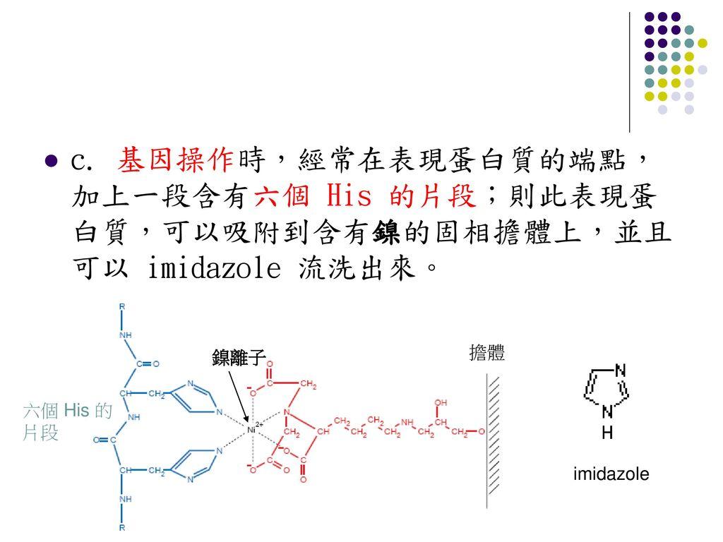 蛋白質的純化與分析─ 管柱層析法與蛋白質電泳 - ppt download