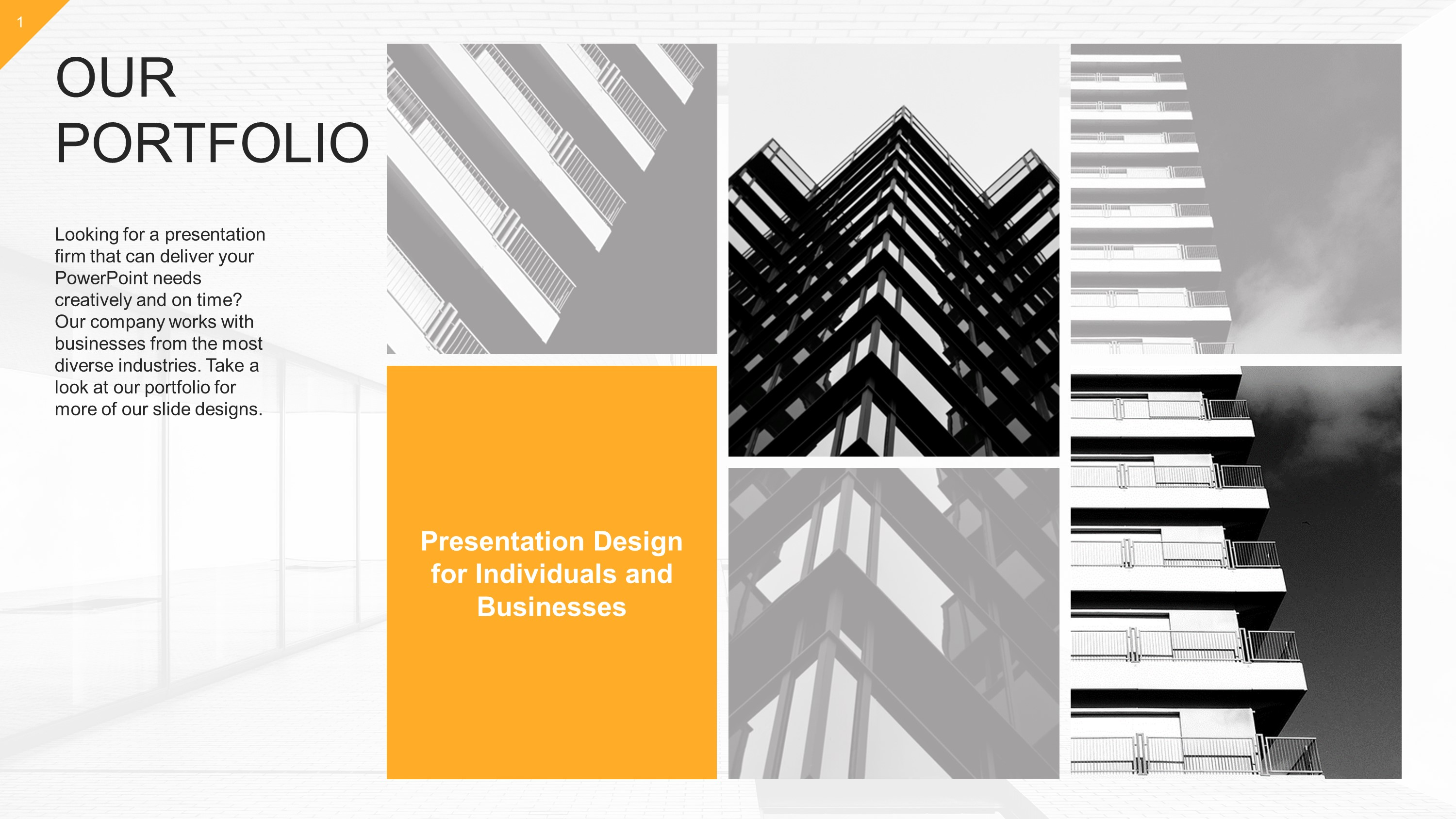 Download Free Modern Corporate Slide Templates