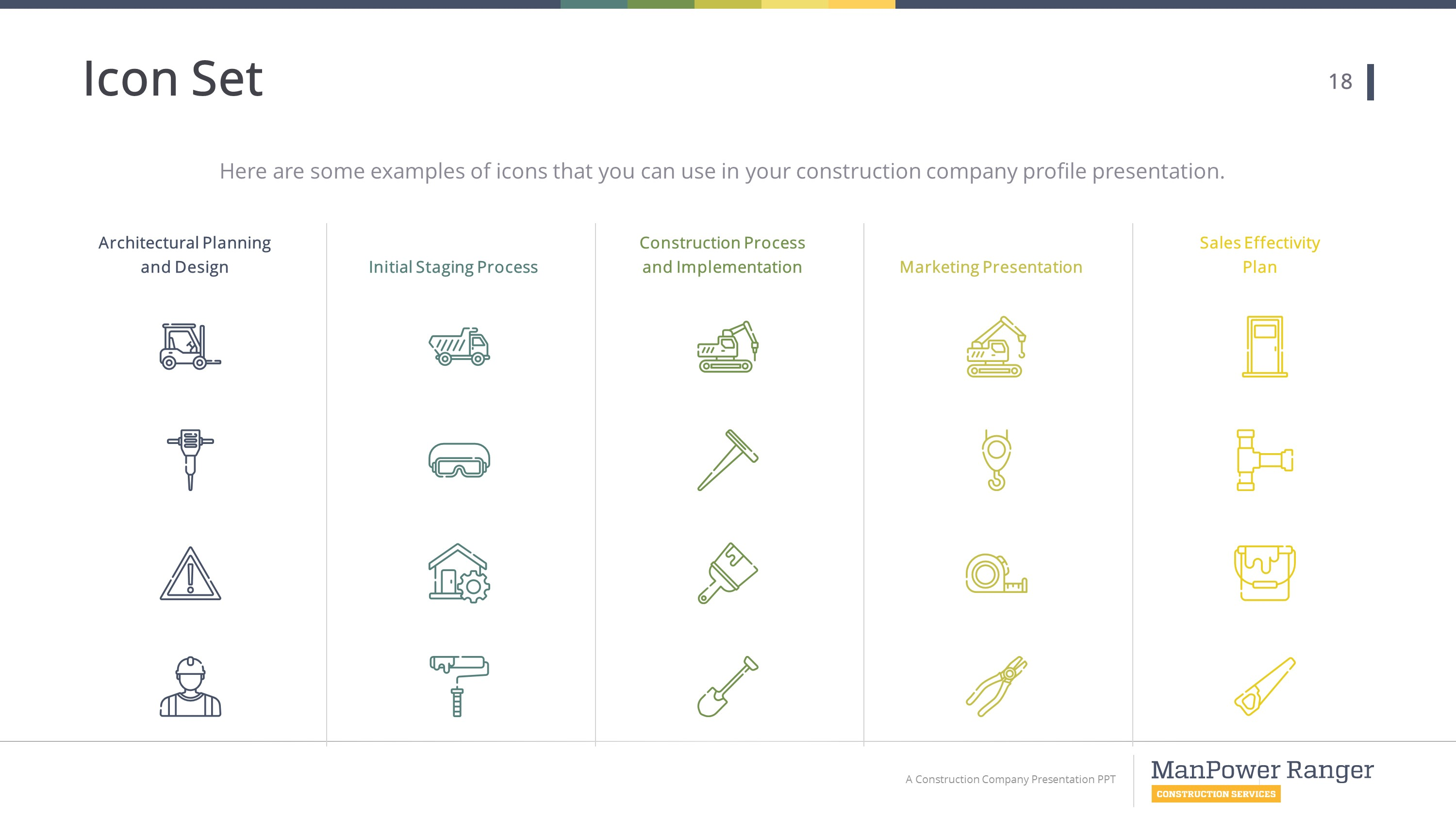 Construction Premium Powerpoint Template