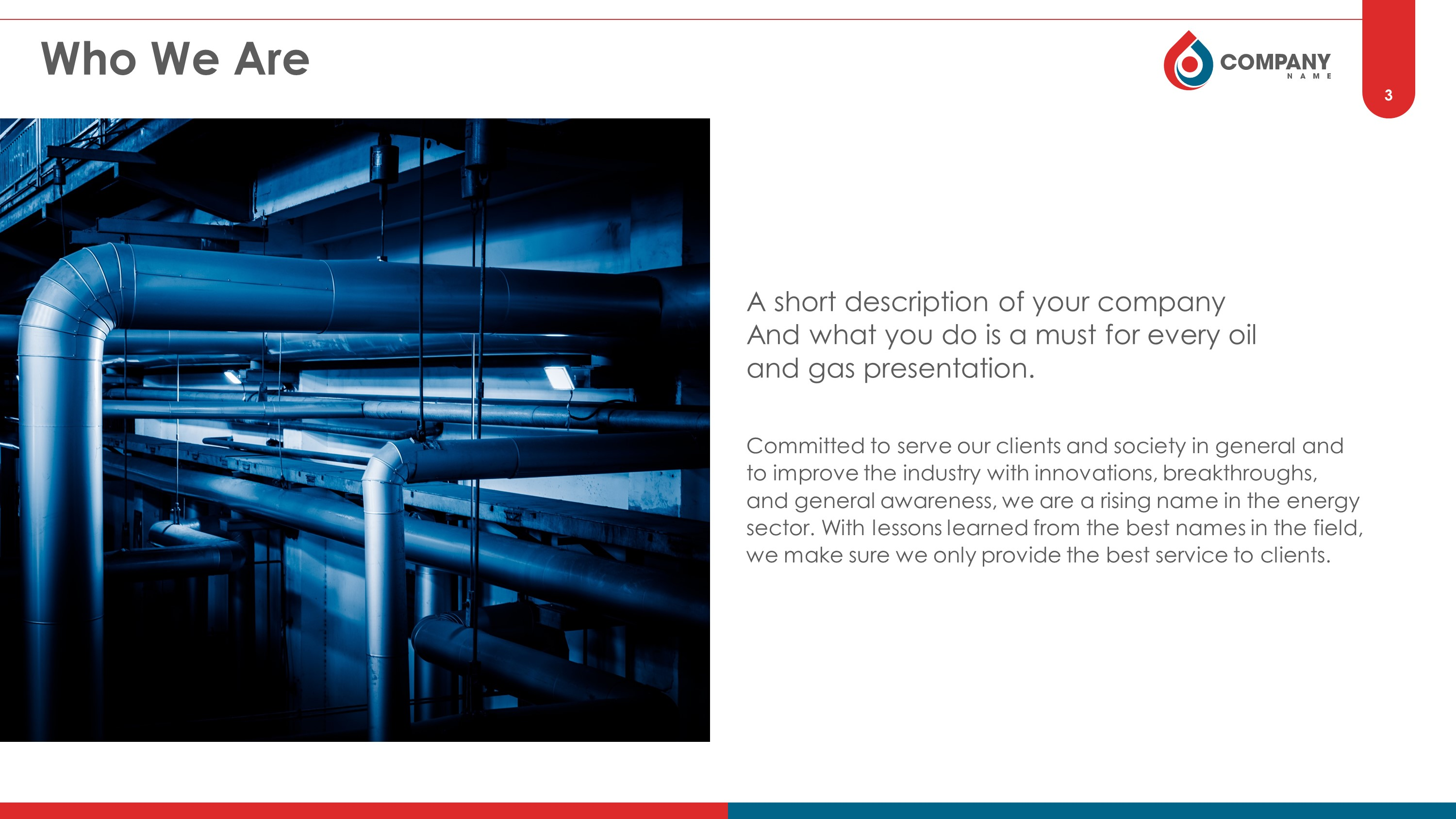 Oil And Gas Premium Powerpoint Template Slidestore