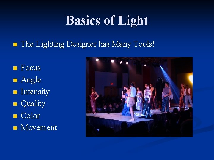lighting design club soda october