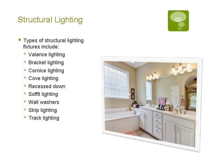 lighting artificial light previously