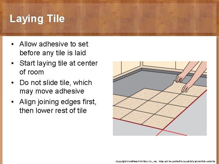 chapter 19 finish flooring objectives