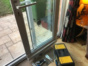 Tilt and Slide garden door repair Sidcup