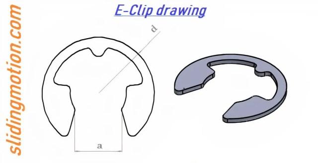 E-Clip drawing