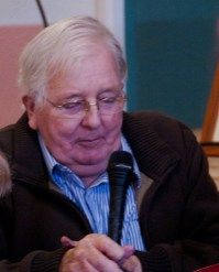 Michael Dunne, former Chairman of the SBA speaks at the 40th Celebrations