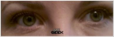 Pomalowane dwoje oczu