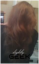 Moje włosy po użyciu zestawu Joanna Argan Oil