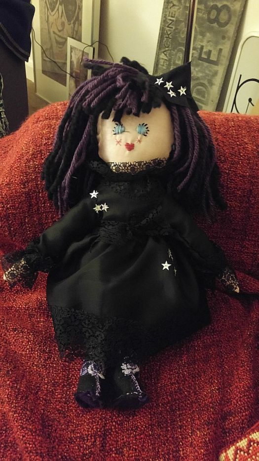 Witch doll for Joanne