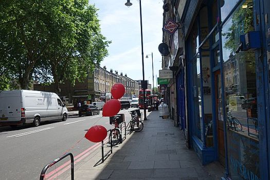 Heading along to Lower Clapton Road