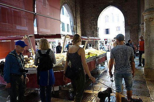 Inside the Rialto Fish Market